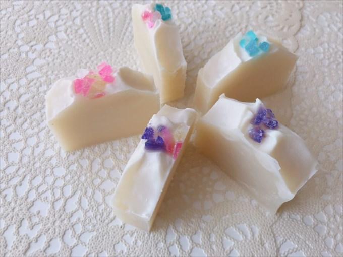 オリーブオイルの手作り石鹸